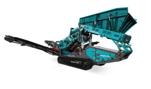 Powerscreen Warrior 1200
